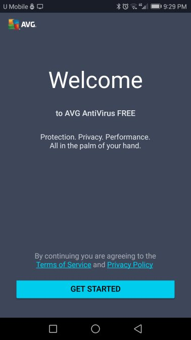 AVG welcome