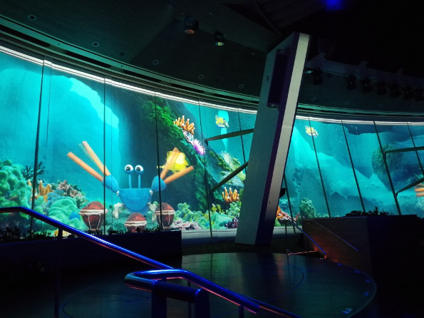 Quantum of the Seas - Two70 - Under the sea